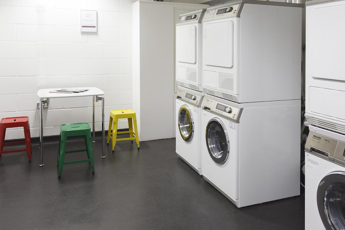 Free on-site communal laundry