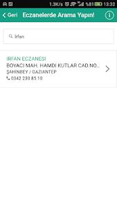 Nöbetçi Eczane Gaziantep screenshot 3