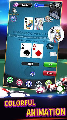 BlackJack 21 - Classic Free Table Poker Game 1.0.6 screenshots 2