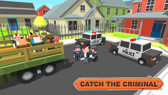 Blocky Vegas Crime Simulator:Prisoner Survival Bus 4