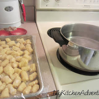 Easy Potato Gnocchi.