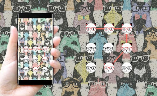 Cat APP Lock Theme Kitty Pin Lock Screen - náhled