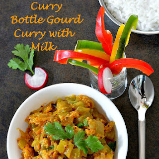 Sorakaya Palu Curry | Bottle Gourd Curry With Milk.