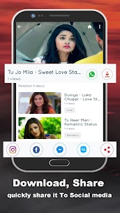 Lovely Video Status App Download For Android and iPhone 3