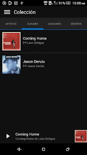 Microsoft Groove: miniatura de captura de pantalla