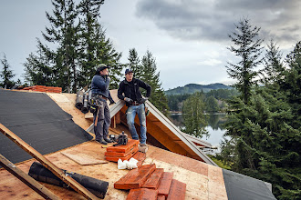 Photo: Roofer was kind enough to take the photo ;-)