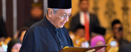 Tahniah Tun Mahathir PM Ke-7