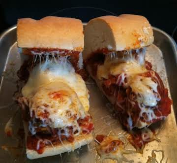 French Bread Mini Meatball Subs