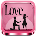 Images and love quotes icon