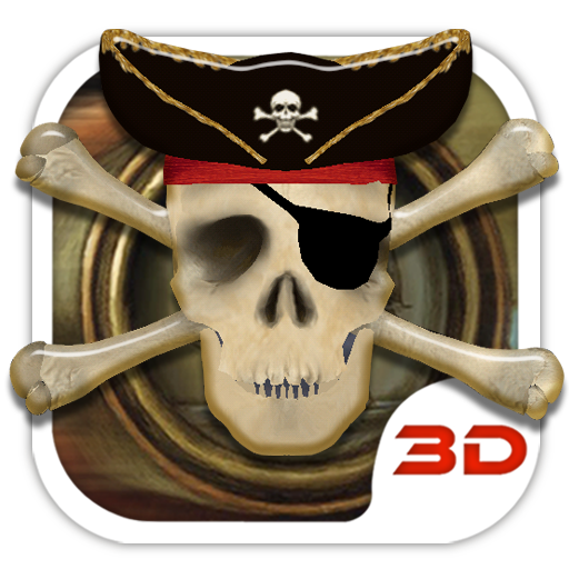 Pirate Skull 3D Theme