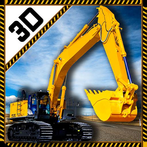 重型挖掘機起重機辛3D 模擬 App LOGO-APP開箱王