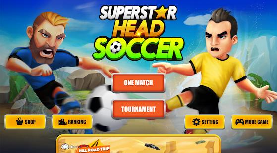 Super Star Head Soccer - náhled
