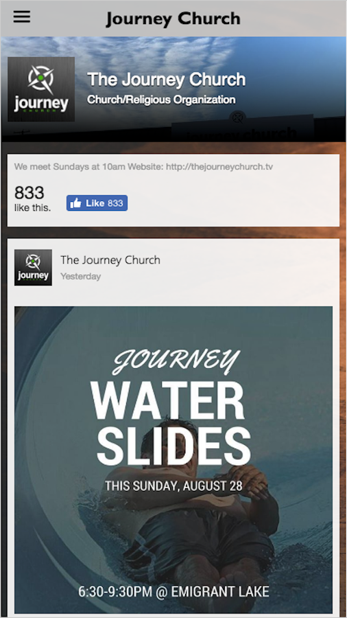 Journey Church-OR- screenshot