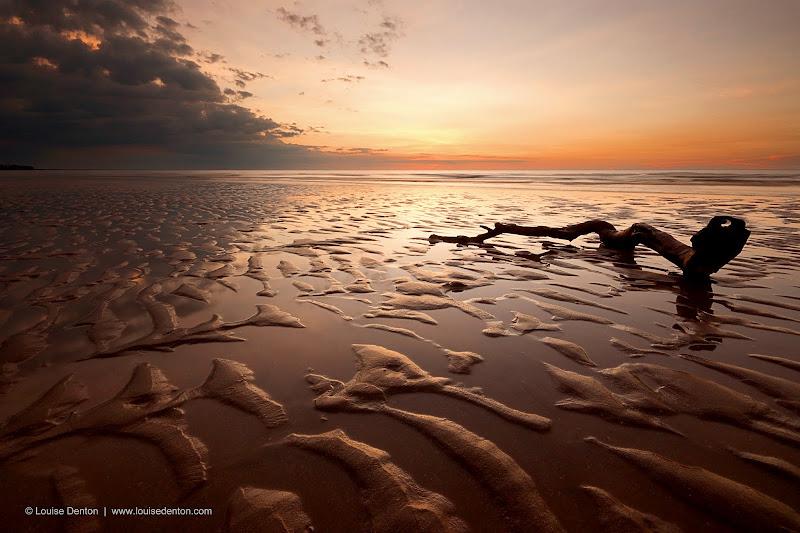 Photo: Liquid Gold - Casuarina Beach sunset