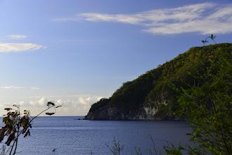 Photo: La baie de Deshaies est truffées de spots de plongée. Elle offre également un littoral bien conservé.