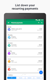 Wallet - Money, Budget, Finance & Expense Tracker Screenshot