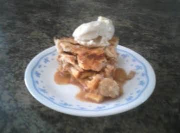Flakey pie crust for a 2 crust pie