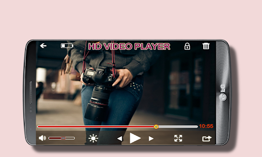 MX HD Video player - náhled