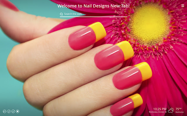 Nail Designs HD Wallpaper New Tab Theme