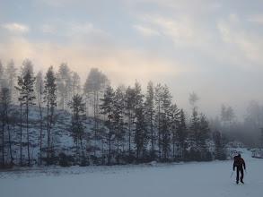 Photo: 020 Sneeuw, mist, bos en Max