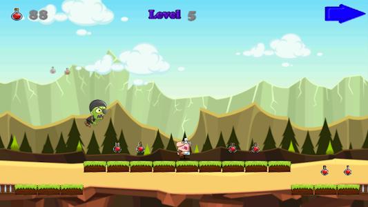 Angry Zombie Run screenshot 2