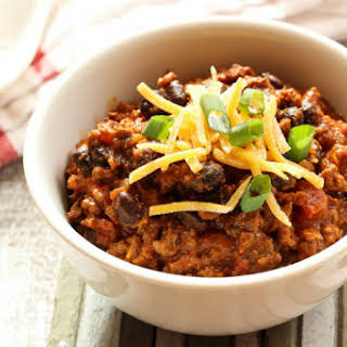 Slow-Cooker Turkey Chili.