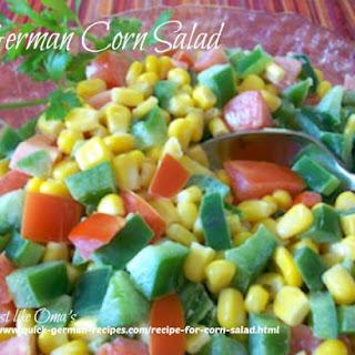 Recipe for Corn Salad