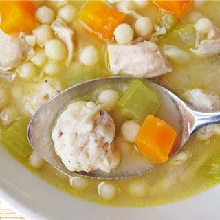 Homemade Chickarina Soup