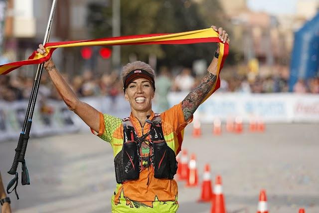 Mirian Carrasco, marchadora campeona.