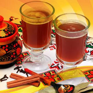 Sbiten (Honey, Cinnamon, Ginger, and Mint Drink).