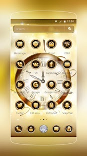 Gold Clock Diamond - náhled