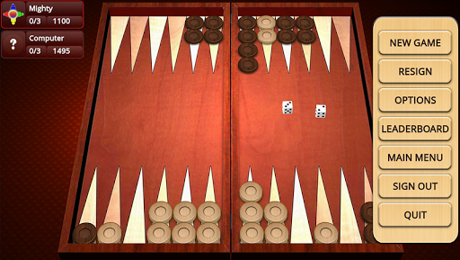 Backgammon Mighty 2.23 screenshots 2