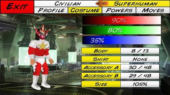 Super City (Superhero Sim)- screenshot thumbnail