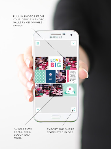 Project Life - Scrapbooking app (apk) free download for Android/PC/Windows screenshot