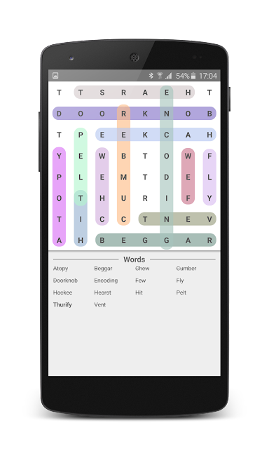 #6. Word Search (Android)