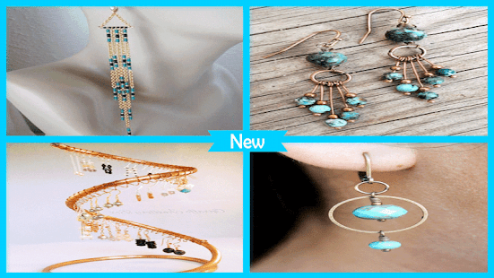 Beutiy DIY Chain Fringe Earring Ideas - náhled