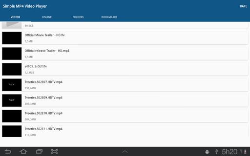 Simple MP4 Video Player 3.1.0 screenshots 6