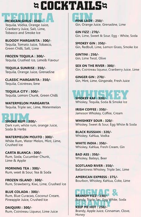 B & B The Pub menu 5