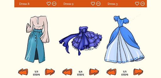 تعلم كيفية رسم أزياء اللباس خطوة بخطوة التطبيقات على Google Play