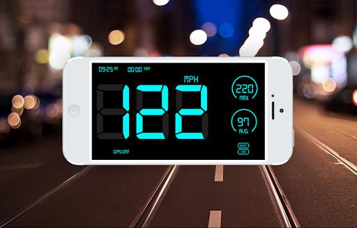 GPS Speedometer: HUD Digi Distance Meter screenshot 4