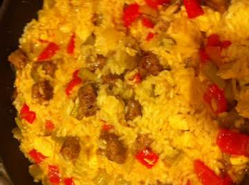 Chicken and Italian Sausage Jambalaya