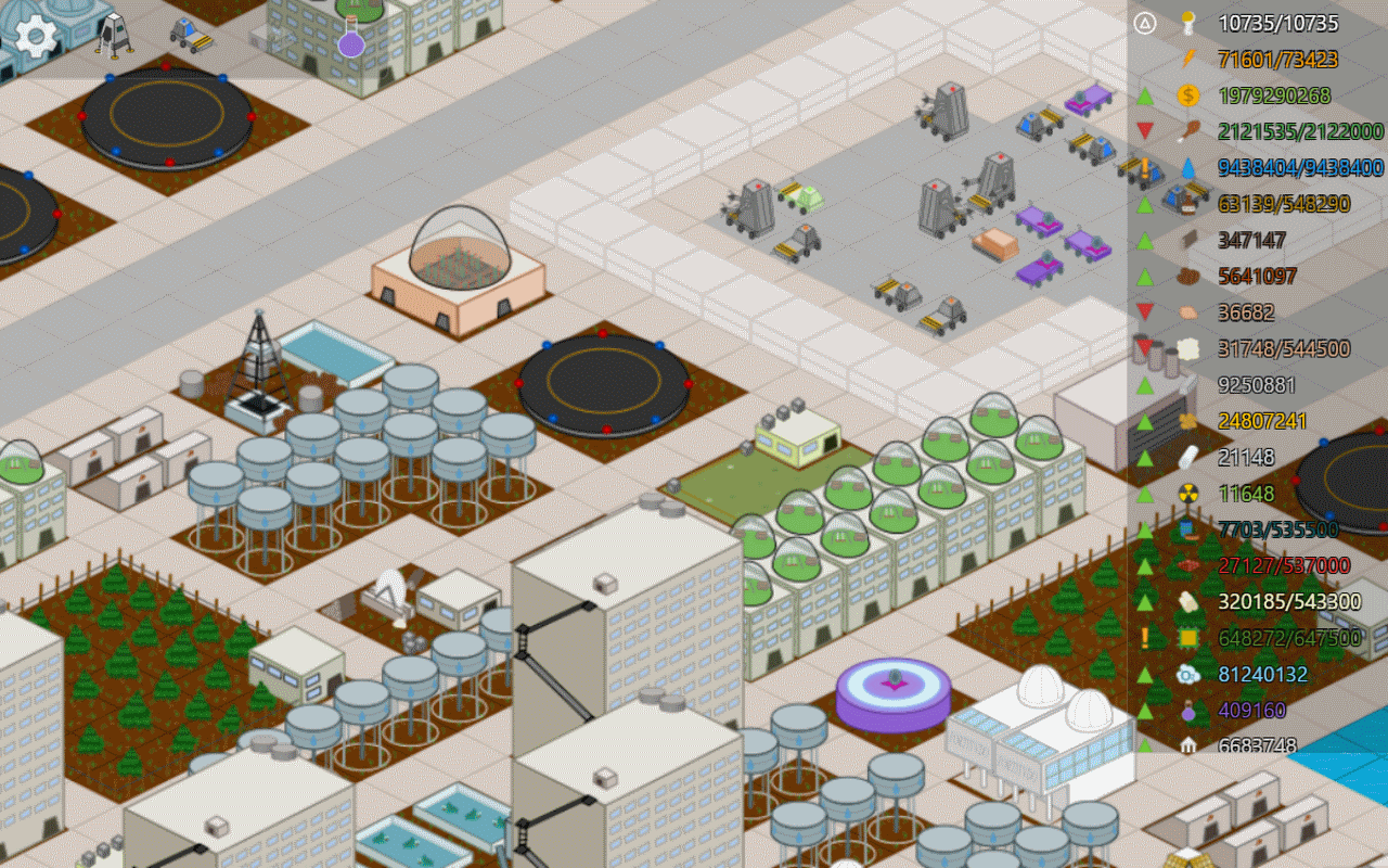 Moonbase inc android apps on google play - My Colony Screenshot