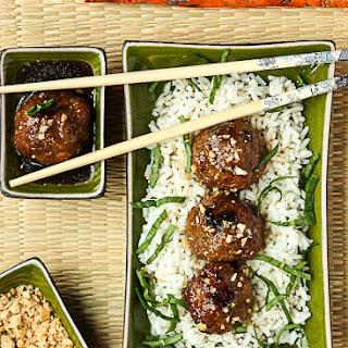 Hoisin Meatballs – Asian Style Chicken Meatballs.