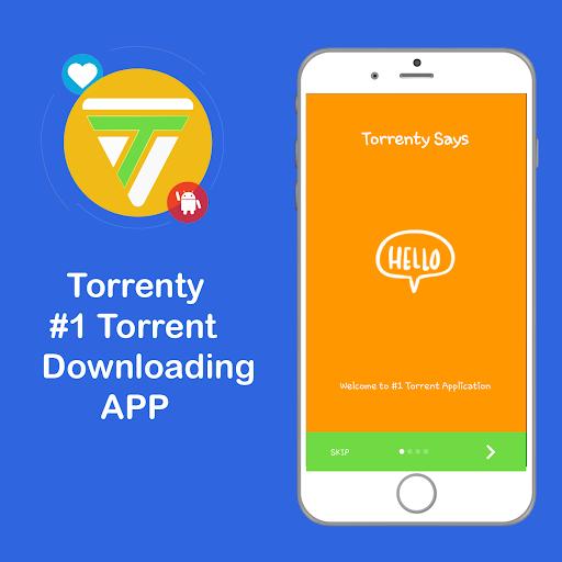 Torrenty-Torrent Pro Client BitTorrent Downloader 2.0. screenshots 1