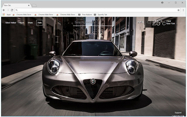 Alfa Romeo HD Wallpapers Sports Cars New Tab