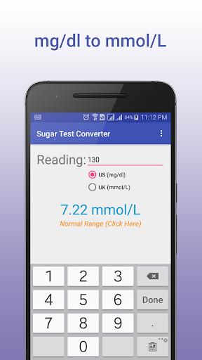 Sugar Test Converter screenshot 1