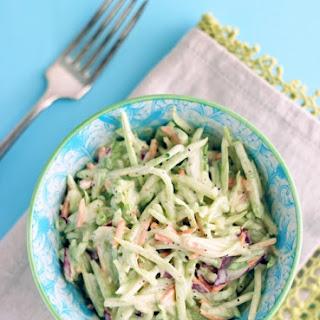 Easy Keto Broccoli Slaw Recipe (Low Carb and Gluten Free).