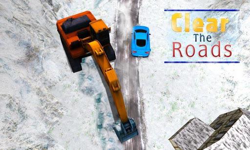 雪挖掘機3D模擬器