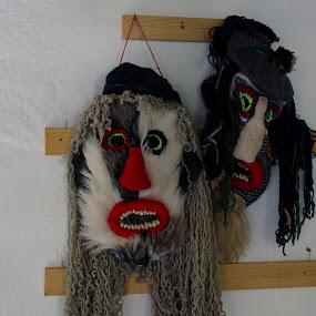 Traditional Masks by Alexandru Lupulescu - Artistic Objects Other Objects ( traditional masks, romania )