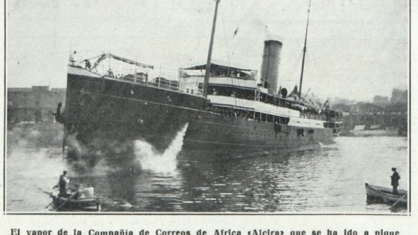 Foto del vapor Alcira.